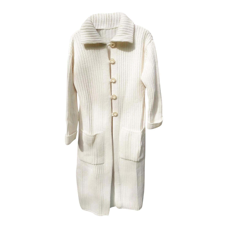 Cardigan long en laine