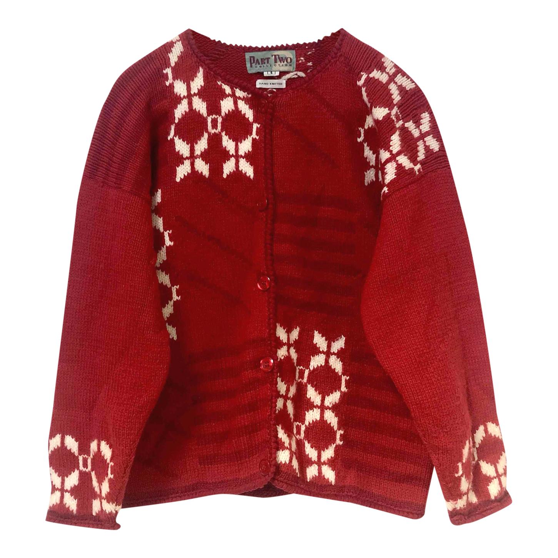 Cardigan péruvien en laine