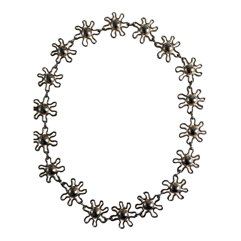Ceinture chaîne fleurs