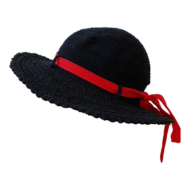 Chapeau en crochet