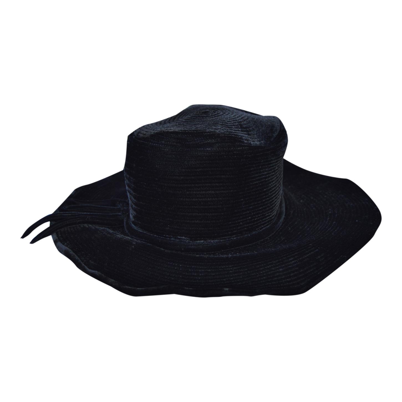 Chapeau en velours