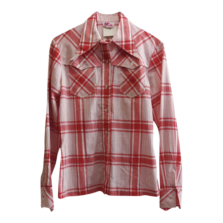 Chemise à carreaux 70's