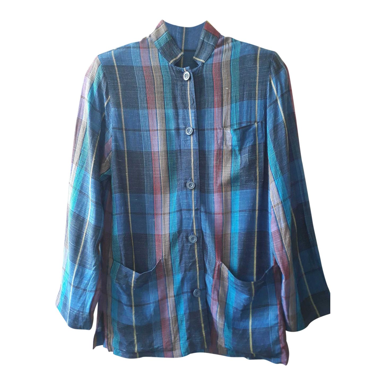 Chemise à carreaux Ted Lapidus