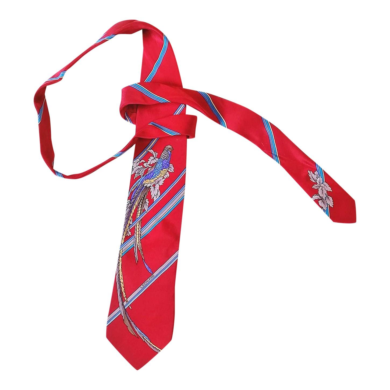 Cravate en soie Leonard