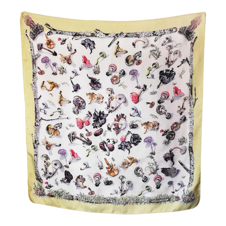 Foulard Hermès champignons
