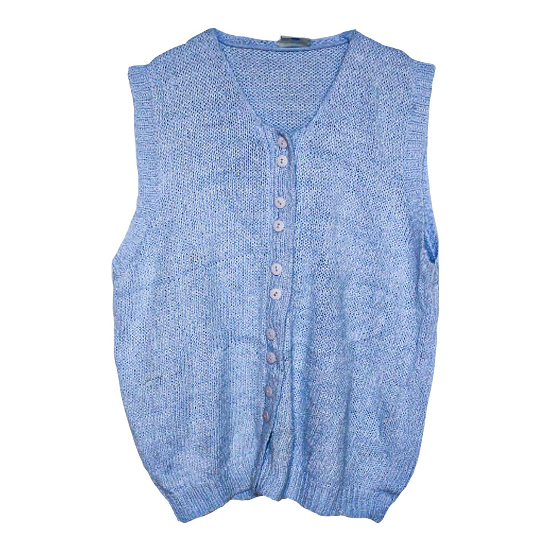 Gilet en laine et coton