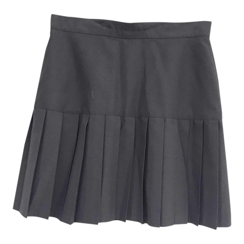 Jupe courte plissée