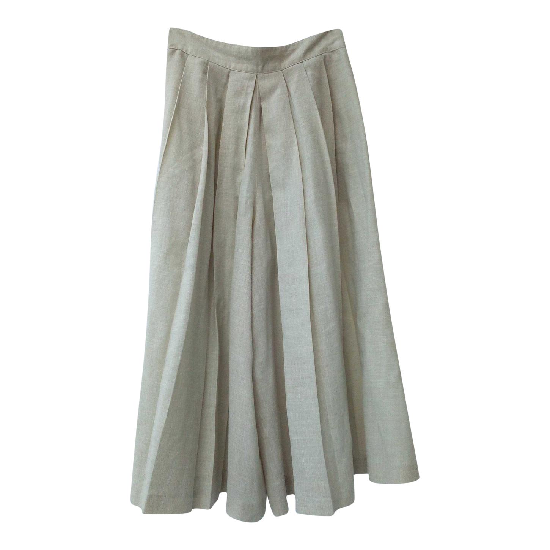 Jupe-culotte plissée