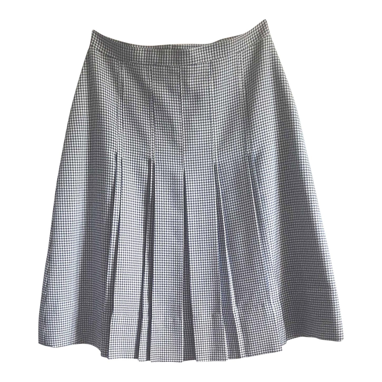 Jupe plissée à motifs