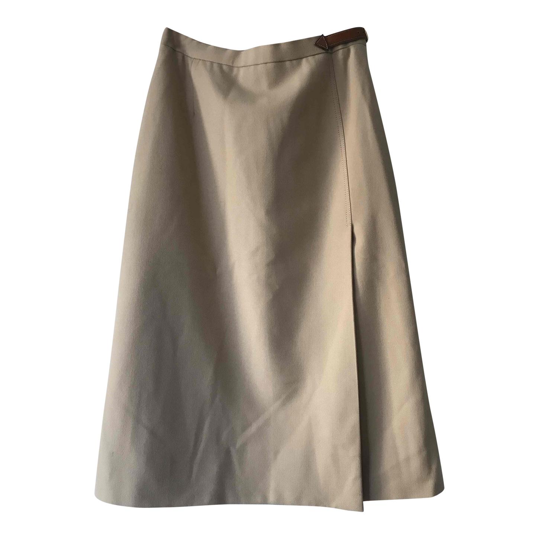 Jupe trapèze Hermès