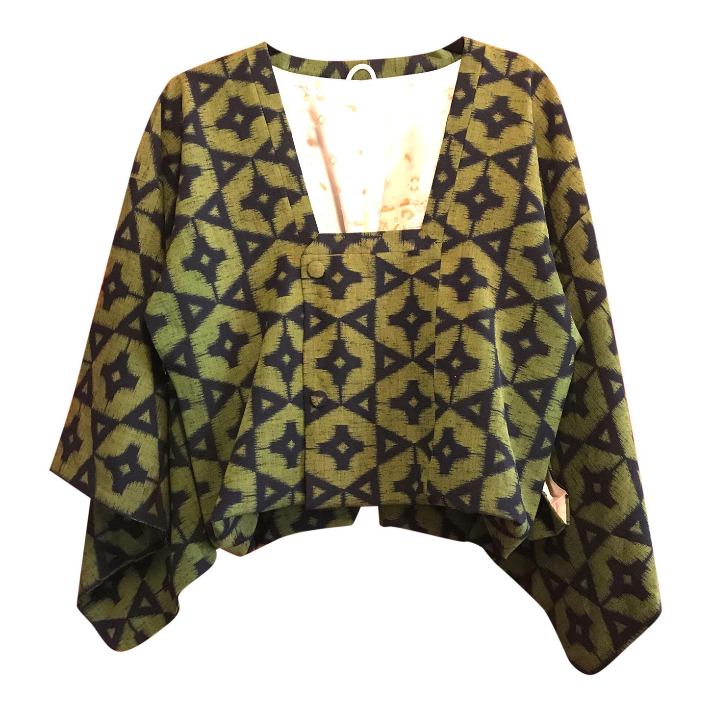 Kimono court en coton