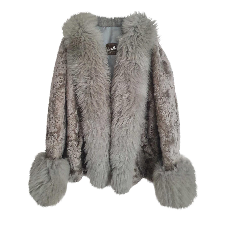 Manteau en fourrure 70's
