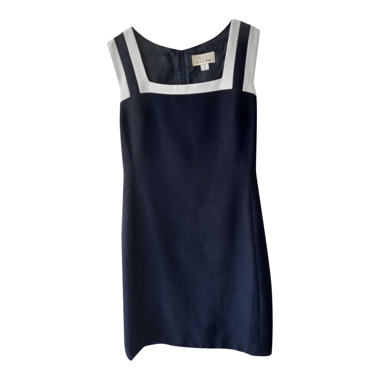 Mini robe bleu marine