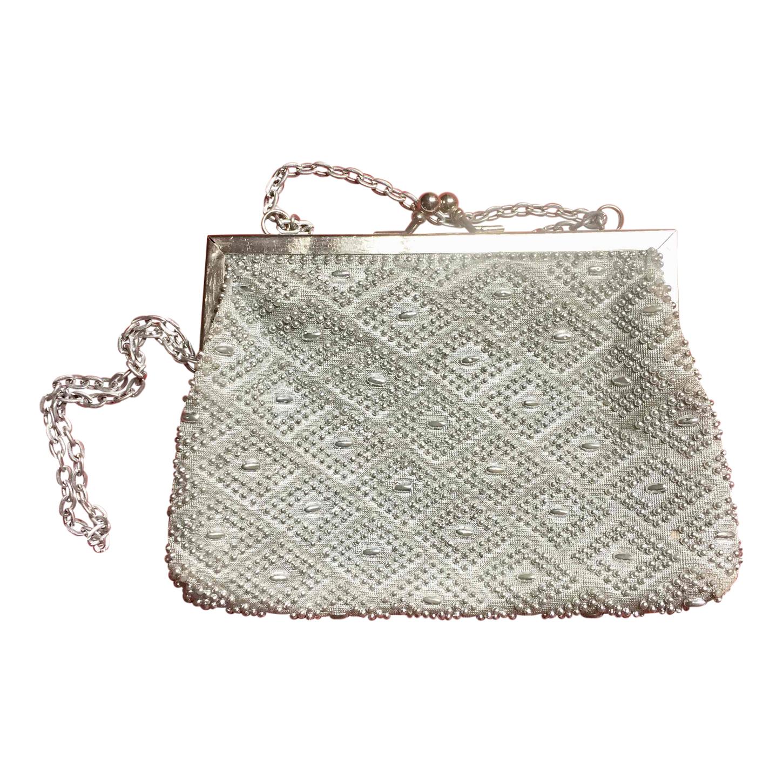 Mini sac argenté