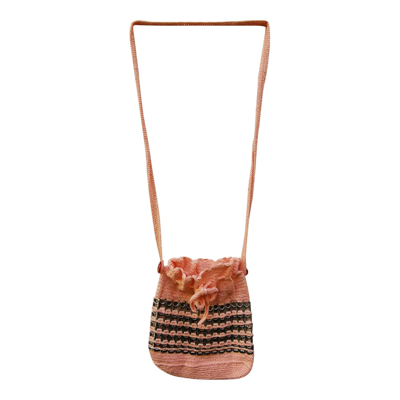 Mini sac seau en crochet
