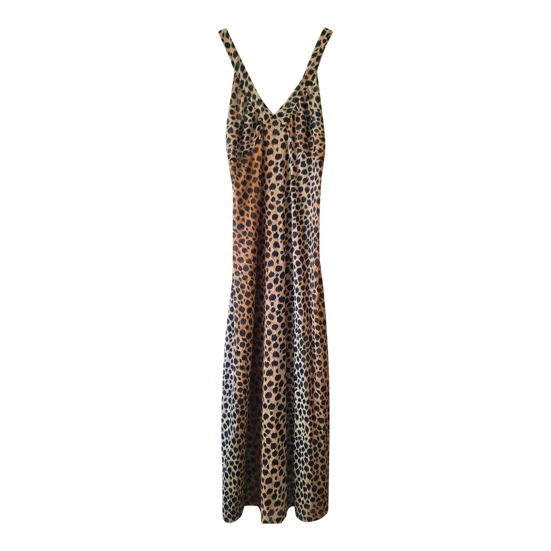 Nuisette longue léopard