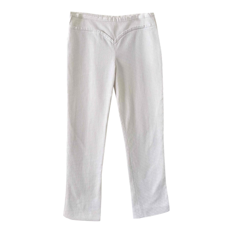 Pantalon Courrèges en coton