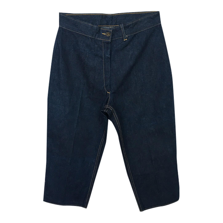 Pantalon court en jean