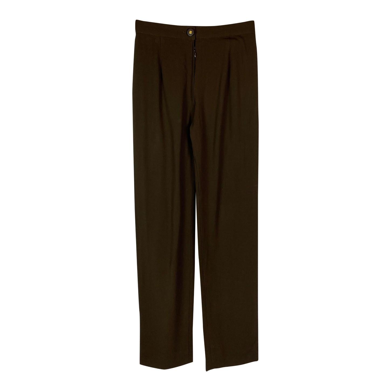 Pantalon en laine Chanel