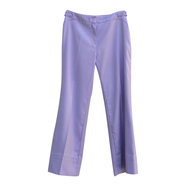 Pantalon flare lilas