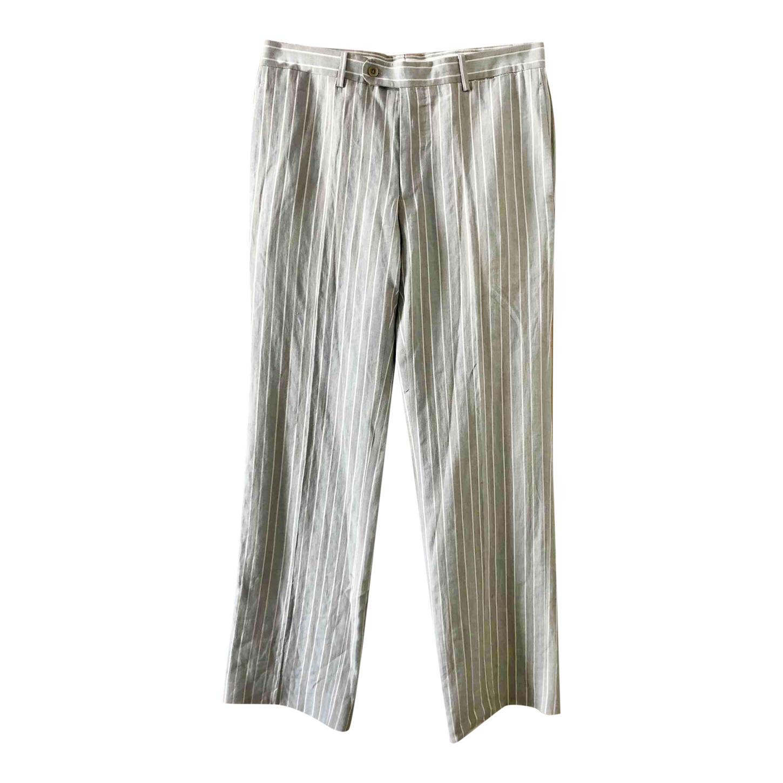 Pantalon Hermès à rayures