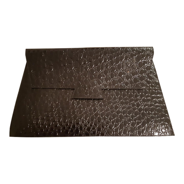 Pochette en simili cuir