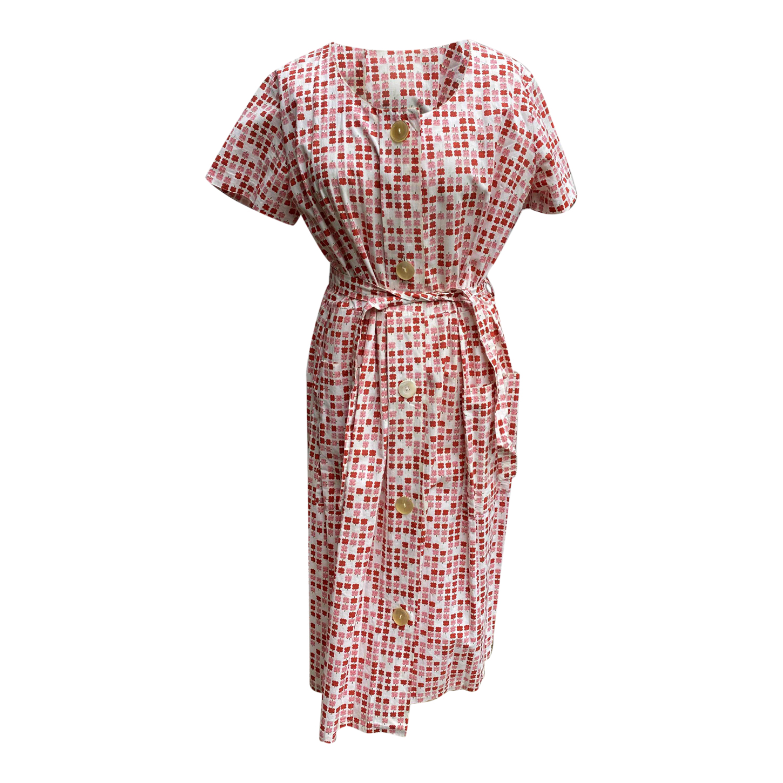Robe à fleurs 60s