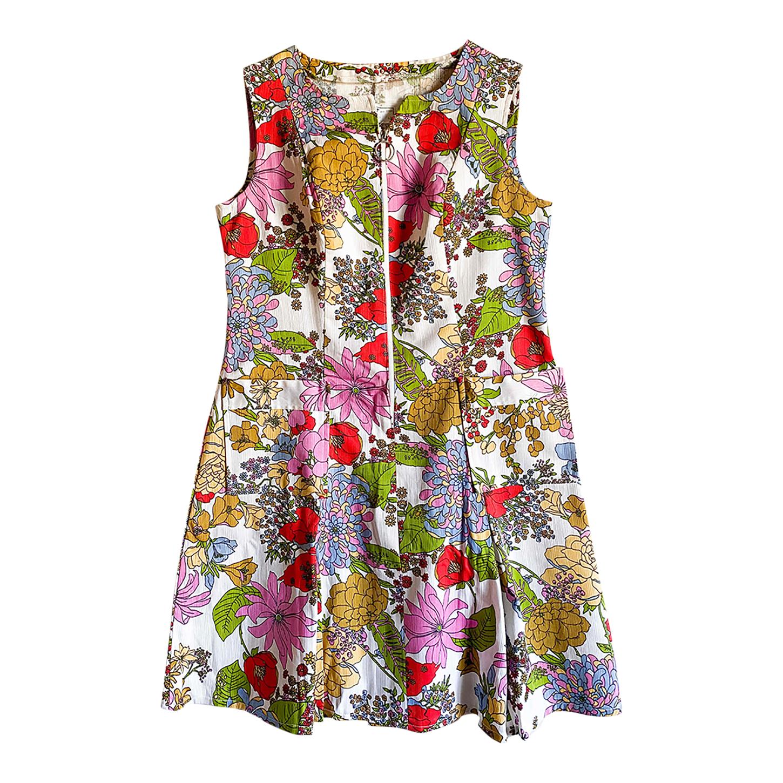 Robe à fleurs 70's