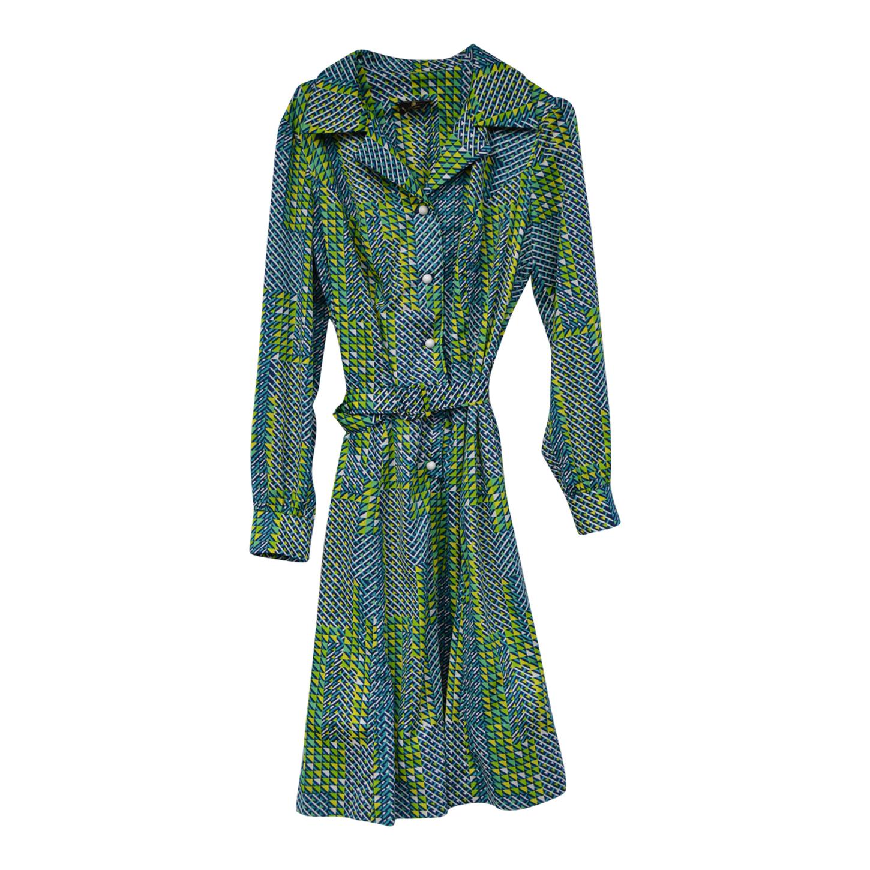 Robe à motifs 70s