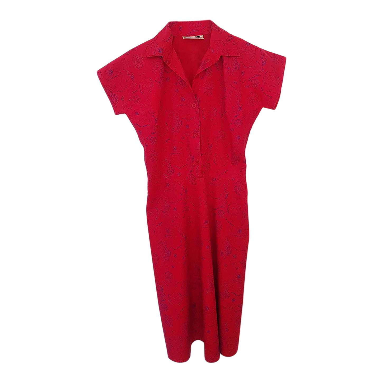 Robe chemise à motifs