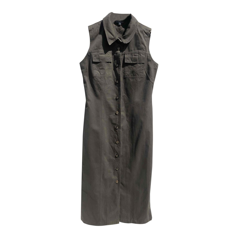 Robe chemise en coton