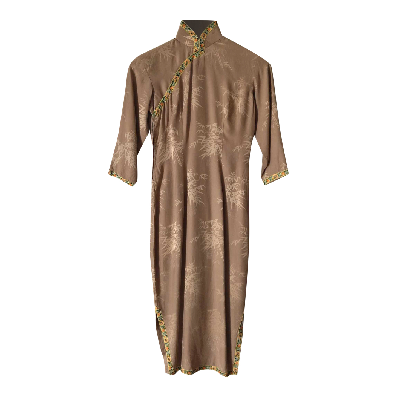 Robe chinoise en soie