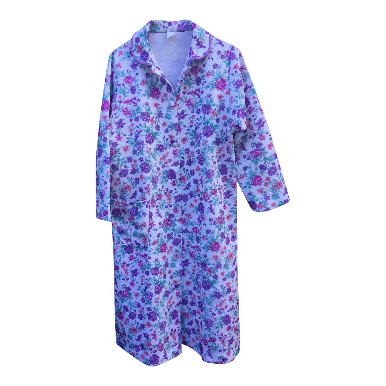 Robe de chambre à fleurs