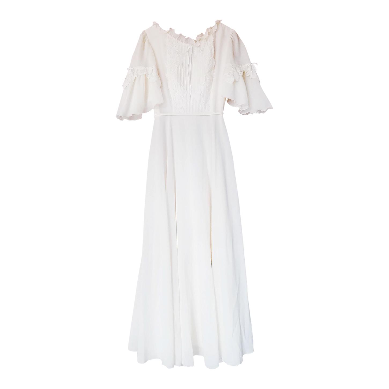 Robe longue romantique