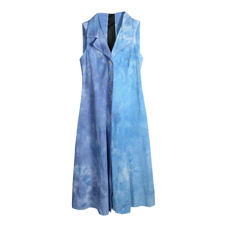 Robe boutonnée tie & dye