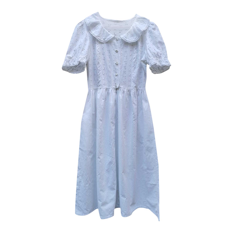 Robe romantique en coton