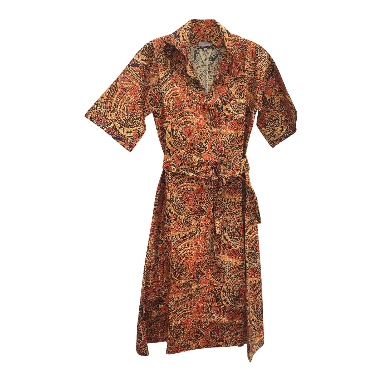 Robe saharienne en coton