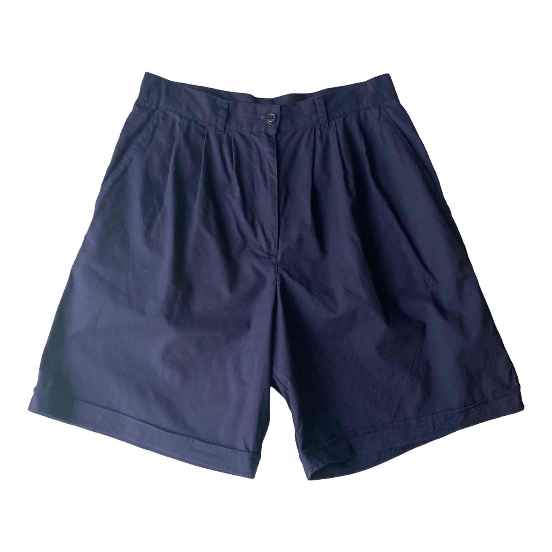 Short bermuda en coton