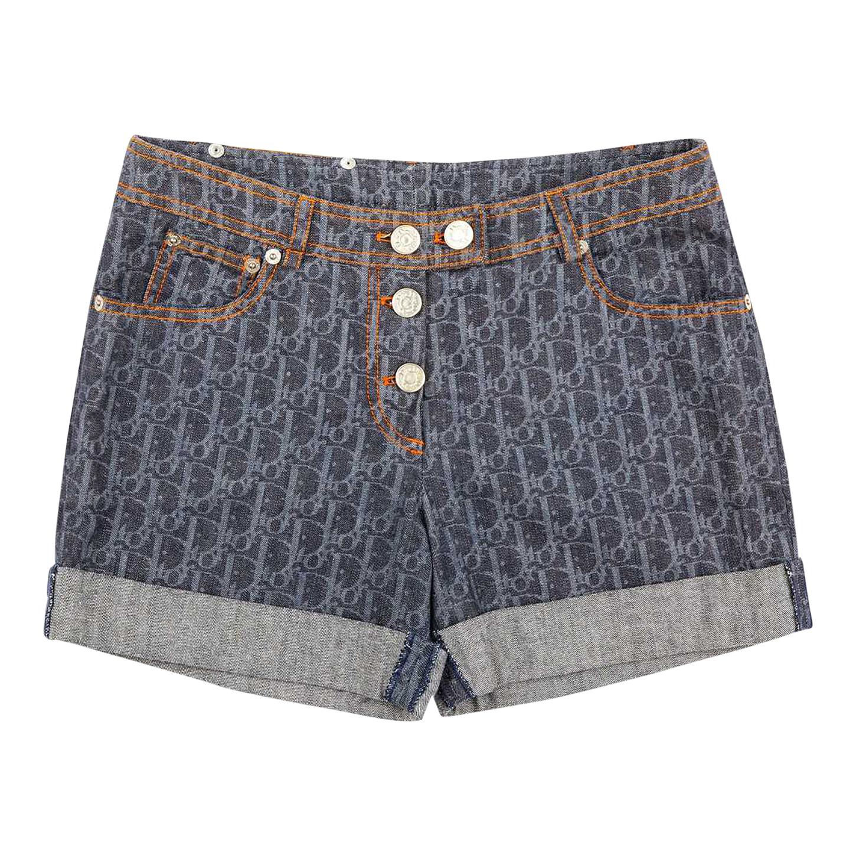 Short Dior en jean