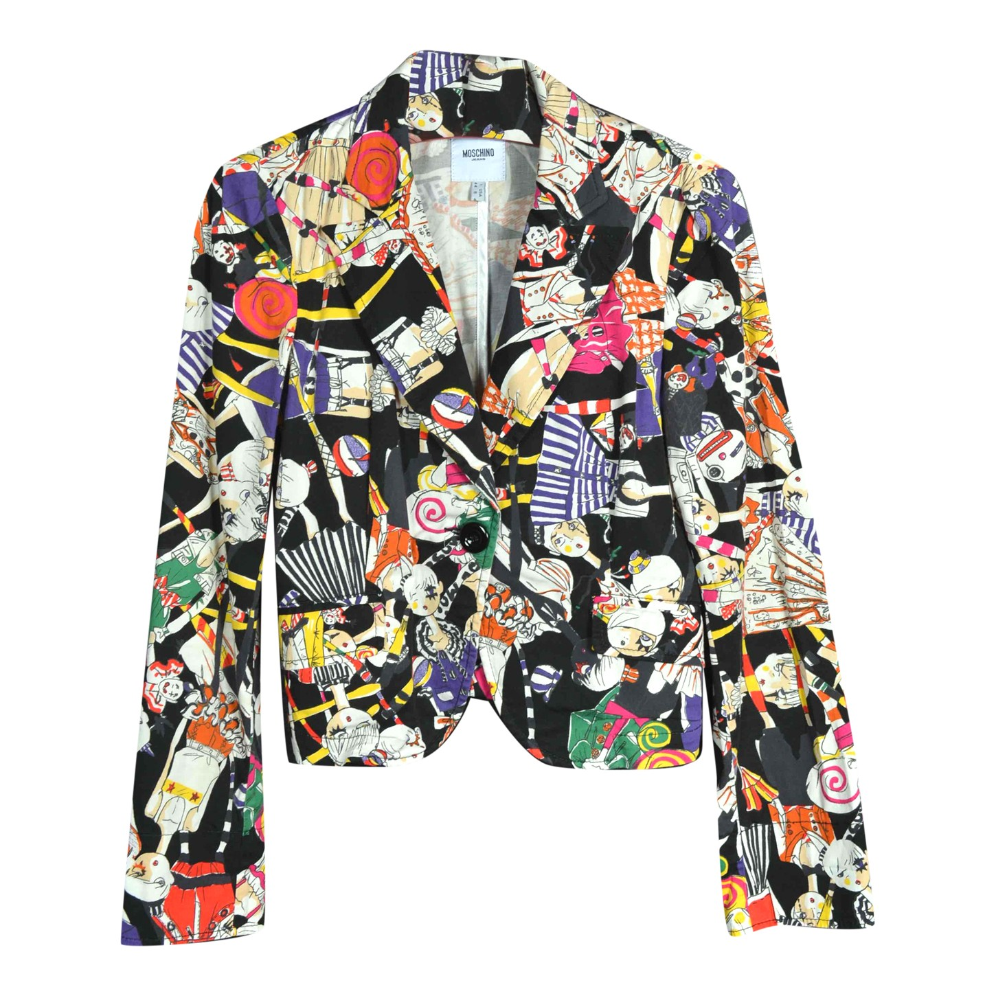 Blazer Moschino multicolore