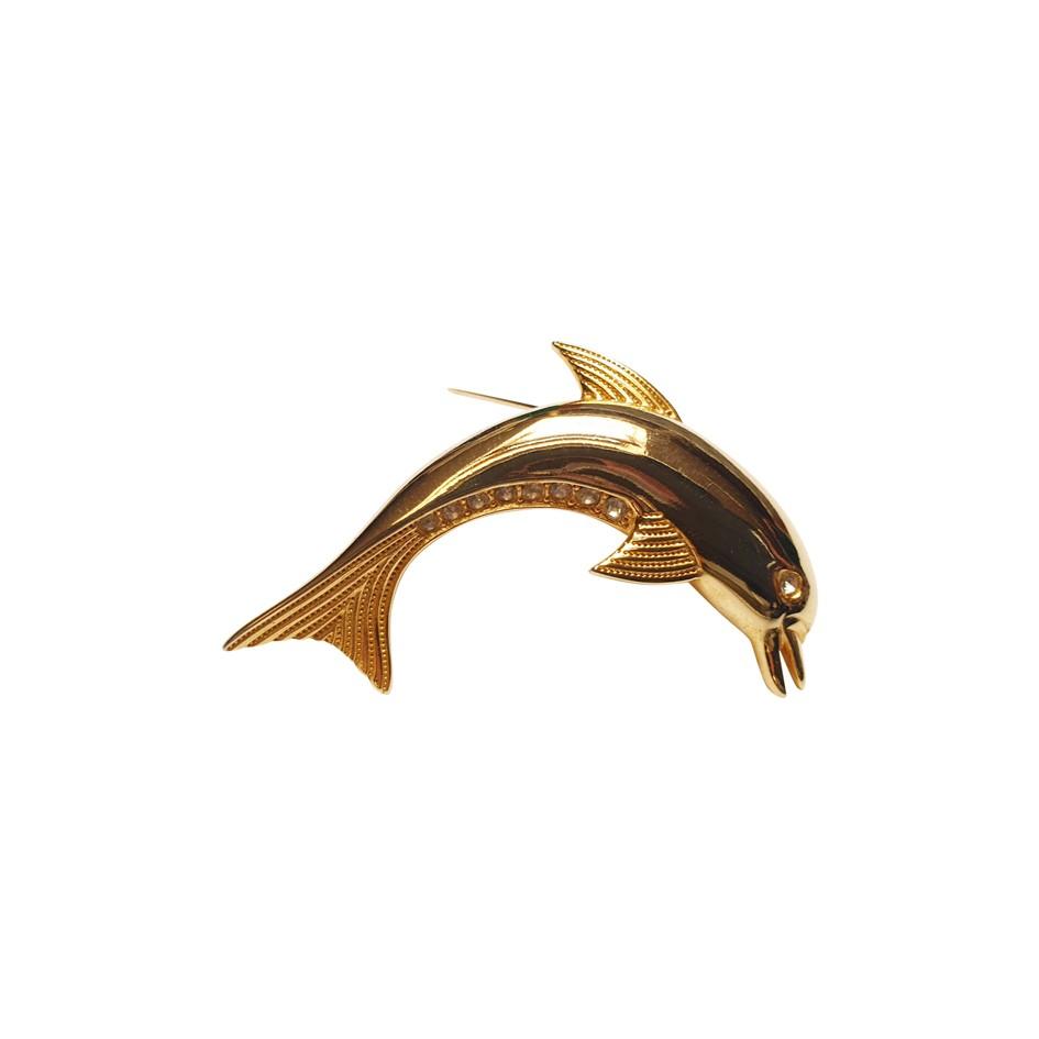 Broche dauphin