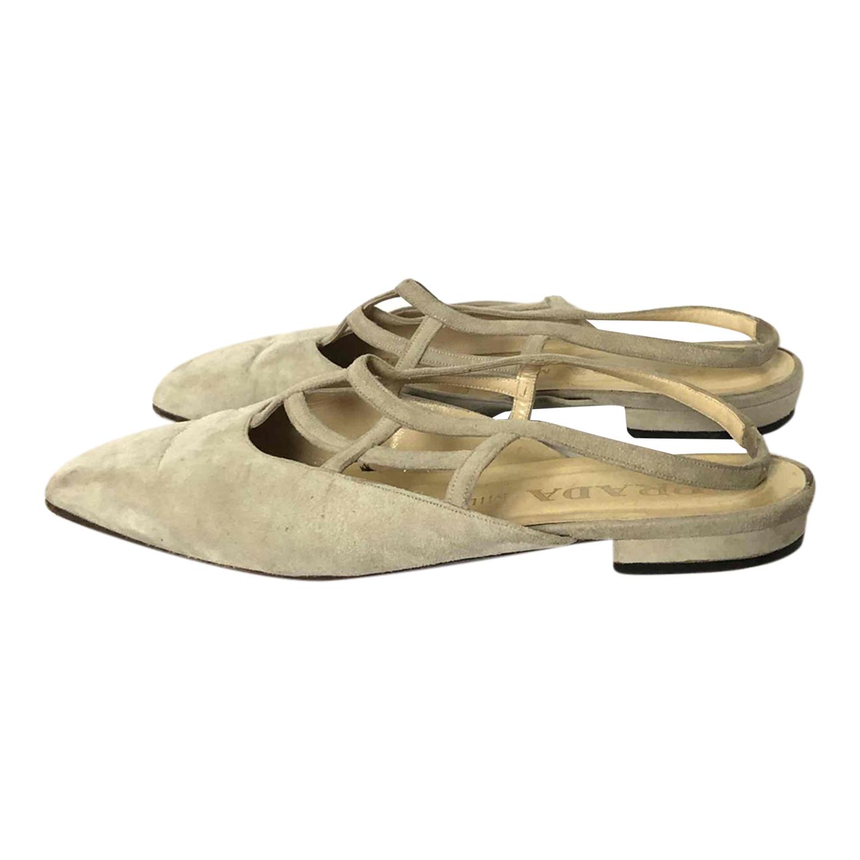Chaussures Prada en daim