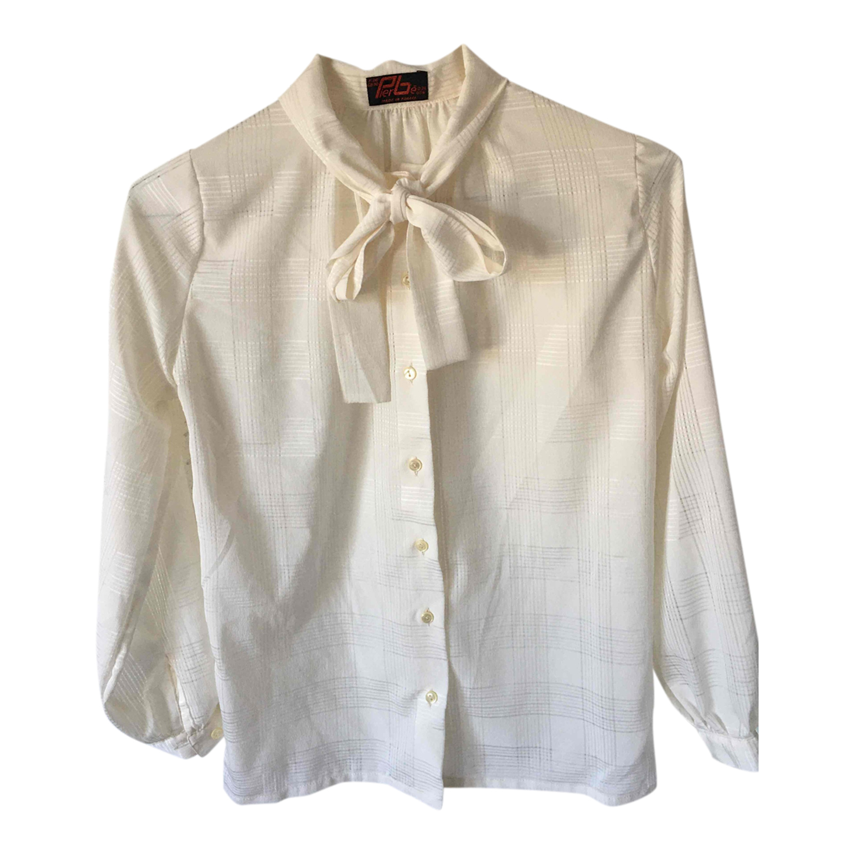 Chemise à col lavallière