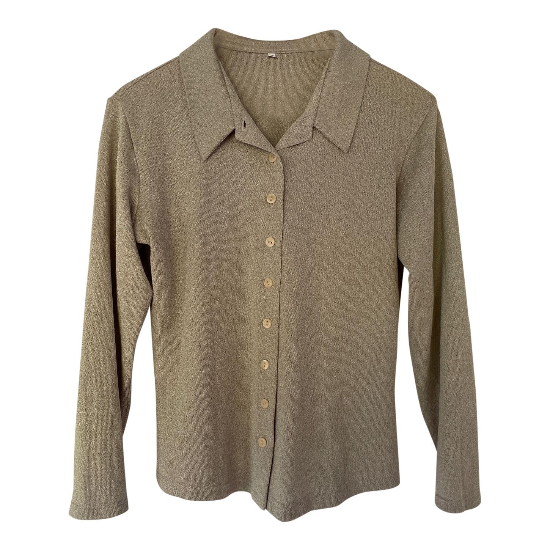 Chemise argentée