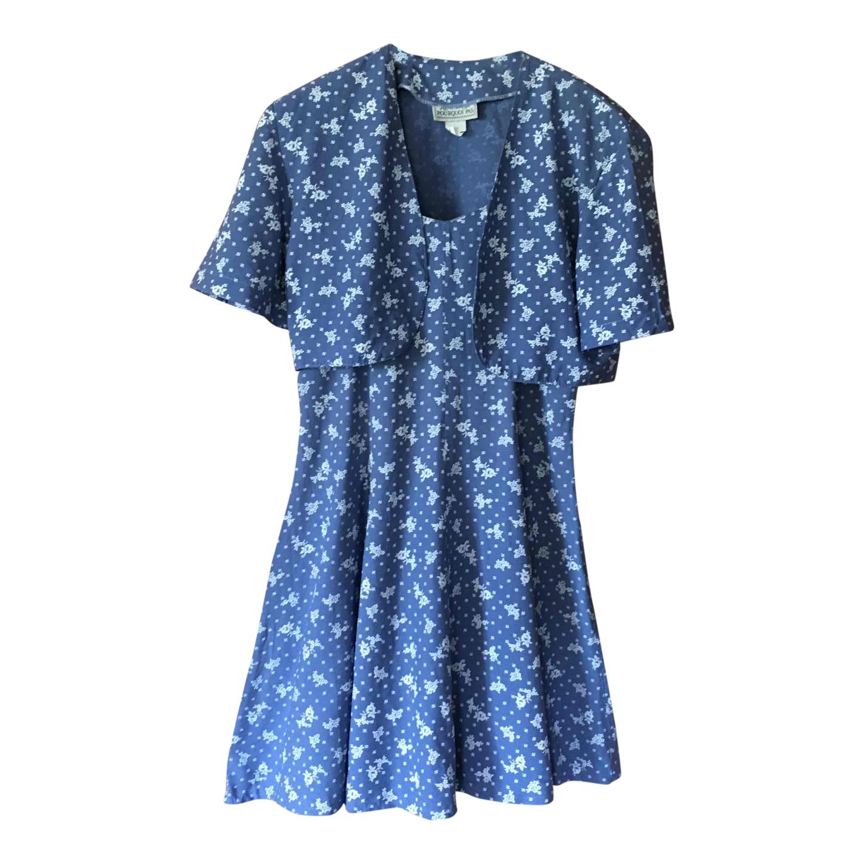 Ensemble mini robe et veste à fleurs