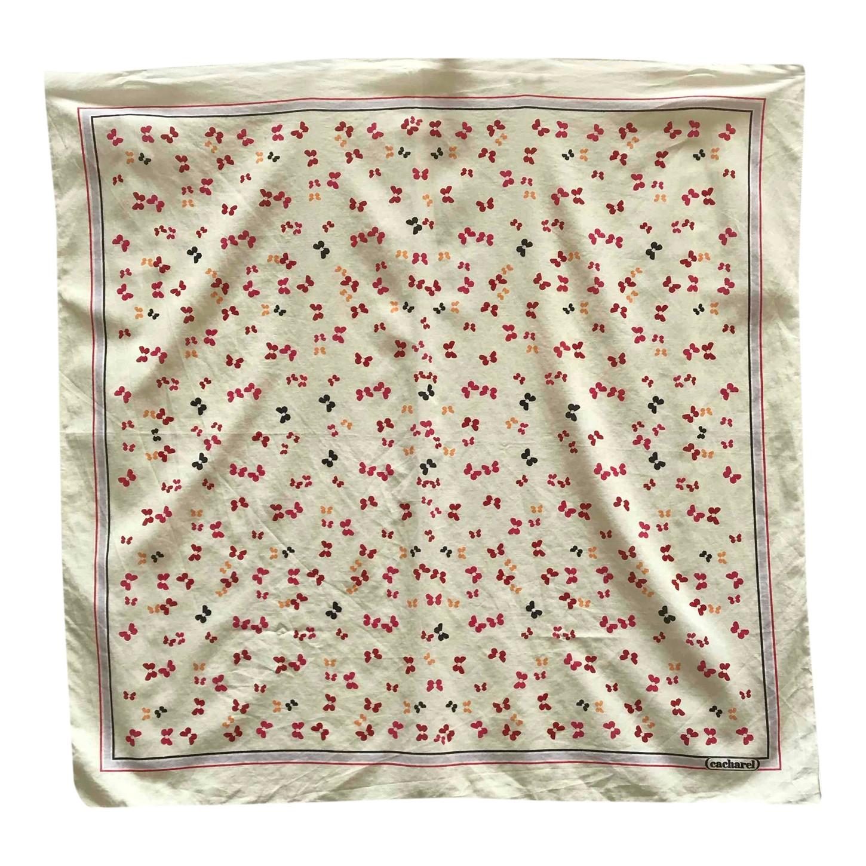 Foulard Cacharel en coton