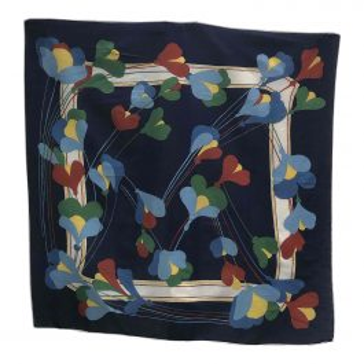 Foulard en coton à fleurs