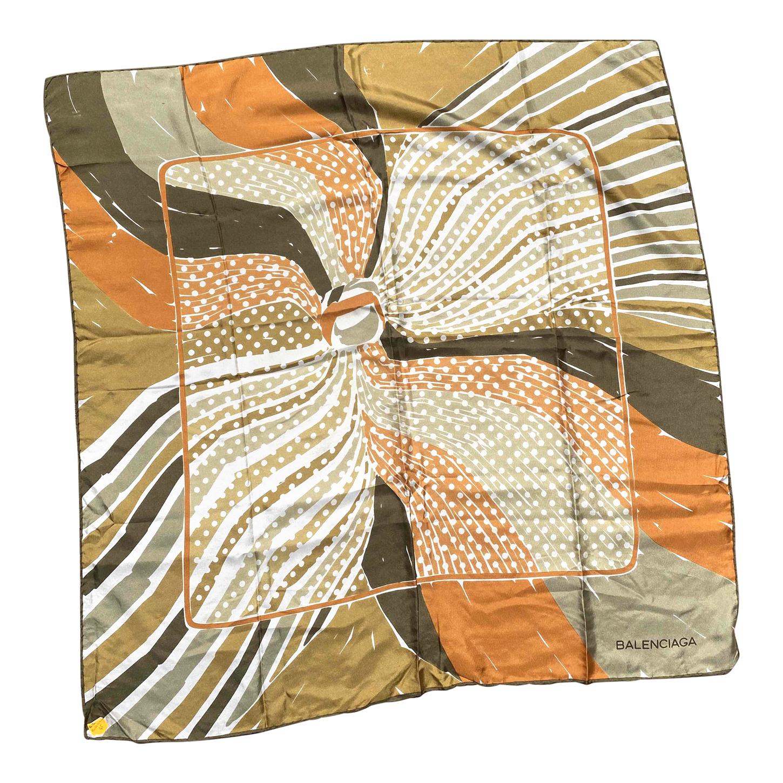Foulard en soie Balenciaga