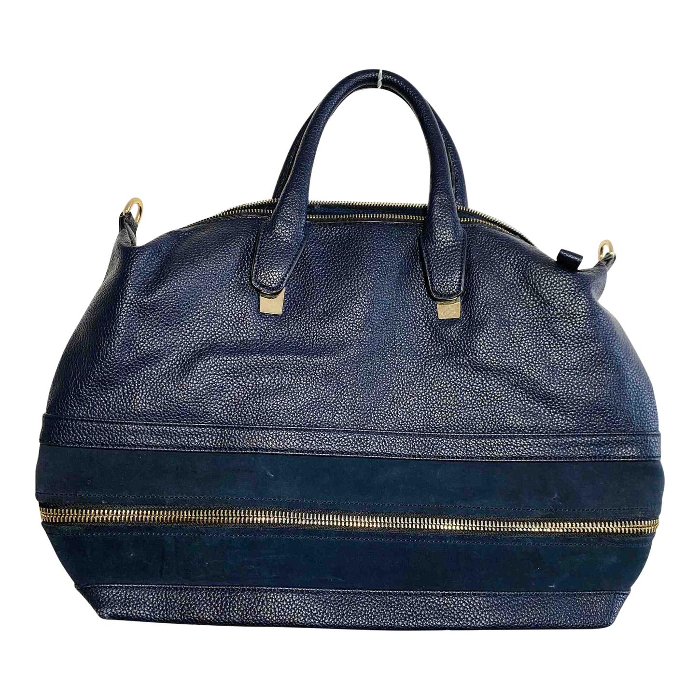 Grand sac cabas en simili cuir