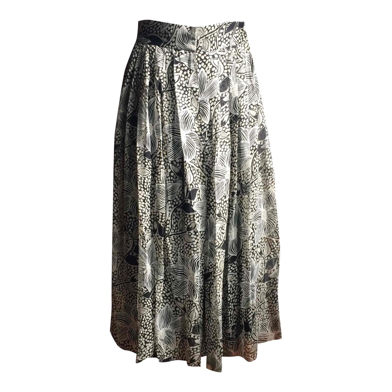 Jupe culotte en soie